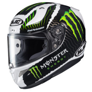 HJC RPHA 11 Pro White Sand – Monster Energy